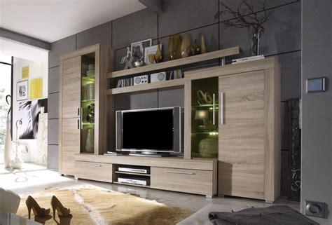 Ikea Schrank Wand by Wohnwand Anbauwand Schrankwand Wohnzimmer Thomson Eiche