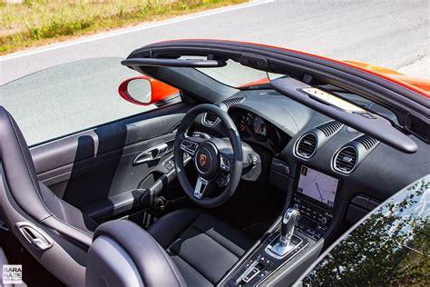 porsche boxster 2016 interior first drive porsche 718 boxster s