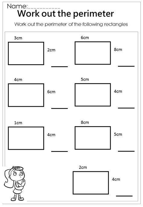 best 25 perimeter worksheets ideas on
