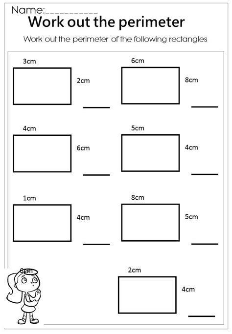 Best 25+ Perimeter Worksheets Ideas On Pinterest  Kids Math, I Love Math And Math Concepts
