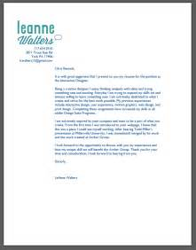 designers cover letter