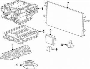 Chevrolet Tahoe Drive Motor Inverter Cooler  Radiator
