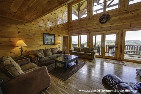 6 Bedroom Cabins In Gatlinburg by Gatlinburg Cabin Vista Lodge 6 Bedroom Sleeps 22