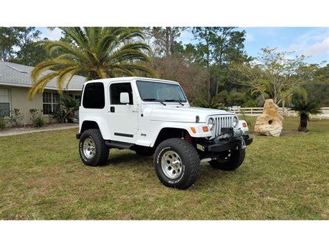 jeep wrangler tj  sale  owner  atlanta ga