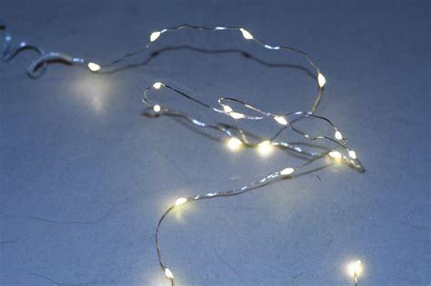 Lichterkette Kleine Lichter lights4christmas led lichterkette batterie silberdraht 40