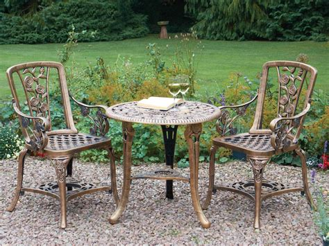 Garden Patio Set Bistro Table And Chairs Garden Furniture