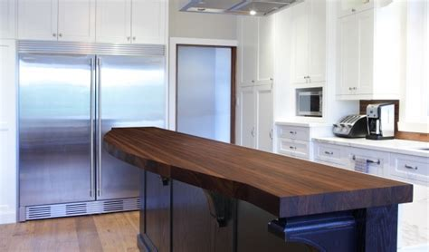 cuisine comptoir bois fabriquer un comptoir de cuisine en bois comptoirs