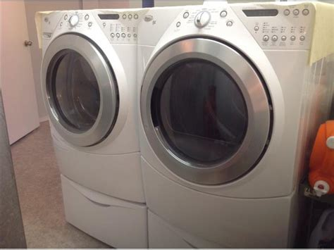 Whirlpool Duet front load washer and dryer North Nanaimo