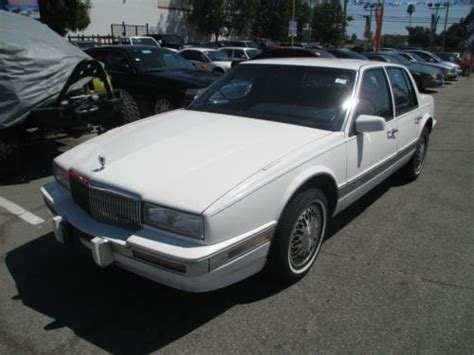Sell Used 1991 Cadillac Seville Base Sedan 4-door 4.9l In