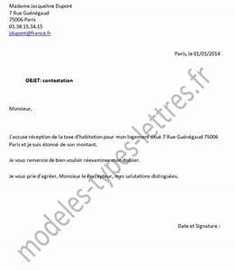 Lettre Officier Ministere Public Contestation : modele de lettre d 39 impots ~ Medecine-chirurgie-esthetiques.com Avis de Voitures
