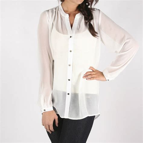 sheer white blouse sheer white blouse 39 s lace blouses