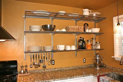 homeofficedecoration wall mounted shelves  kitchen