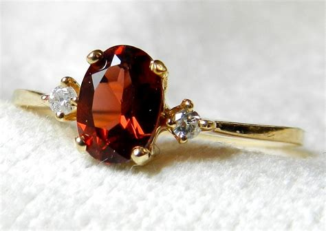 vintage garnet engagement ring 1 by lovealwaysgalicia