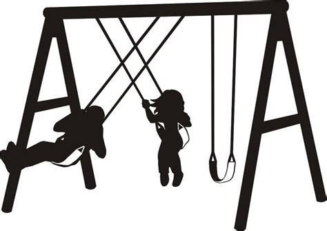 swing clipart black and white swing set clipart black and white