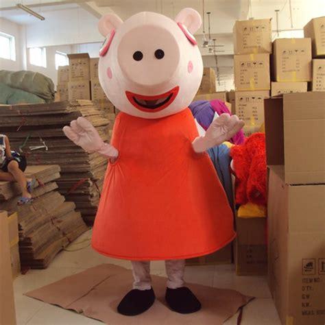 cosplaydiy unisex mascot costume peppa pig mascot cosplay
