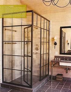 unique shower stall | Bathroom Decor Ideas | Pinterest