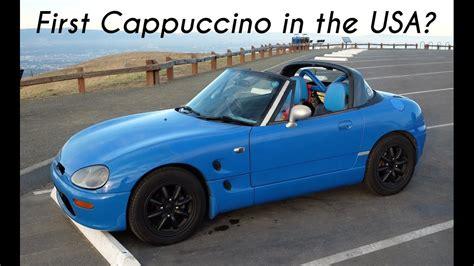 Driving the First Suzuki Cappuccino in America! - YouTube