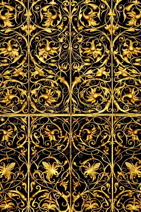 Goldenes Gitter Stockfoto Bild Von Gold, Schmucksachen