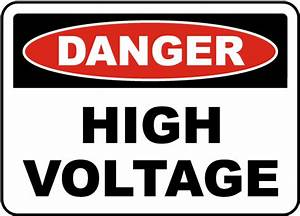 danger high voltage label e3301l by safetysigncom With high voltage warning label requirements