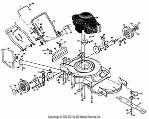 Poulan Pp750pk Mower Parts Diagram For Mower Housing