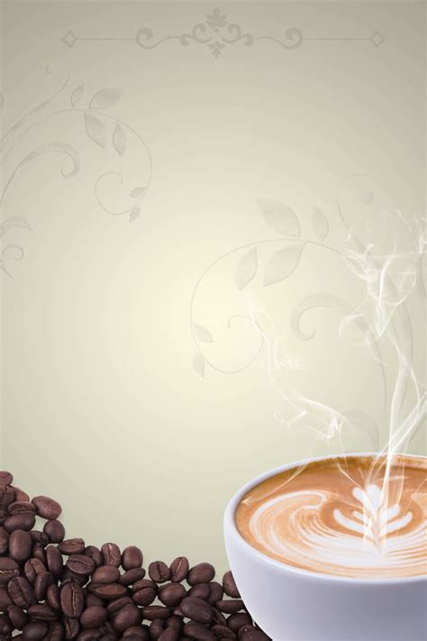 coffee order menu european style pattern background