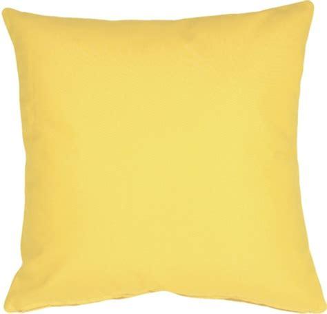 sunbrella buttercup yellow 20x20 outdoor pillow from