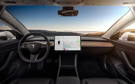 Download Latest Tesla 3 Software Update Pictures