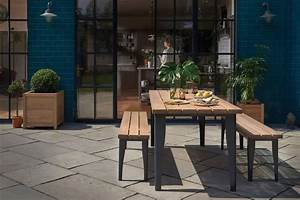 Outdoor Oak Brunel Table
