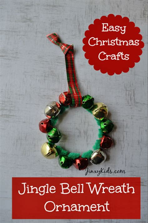 jingle bell ornaments to make 33 handmade christmas ornaments for kids onecreativemommy com