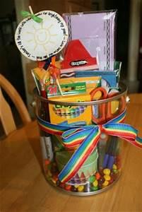 Creative Holiday Gift Ideas Teacher Gift Supply Pail