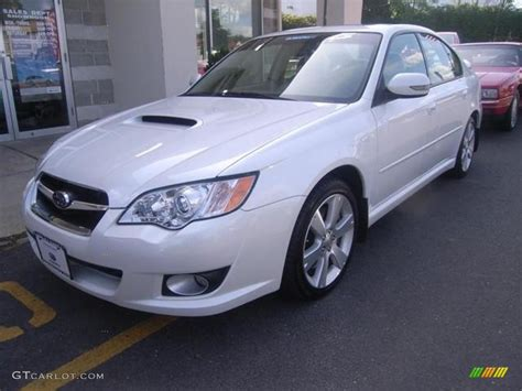 Subaru Legacy 2 5 Gt Limited by 2008 Satin White Pearl Subaru Legacy 2 5 Gt Limited Sedan