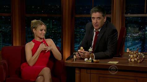 Late Late Show With Craig Ferguson 1132012 Kristen Bell Inhotpic