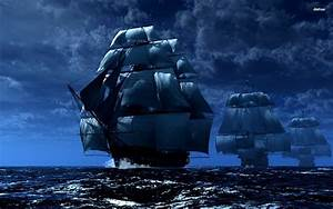 pirate ship Full HD Wallpaper and Background