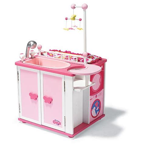 doll changing table station amazon com our generation baby doll care center with