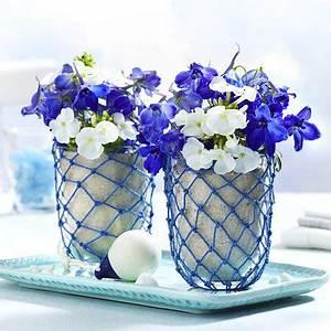 Maritime Möbel Blau Weiß : 98 besten maritime tischdeko bilder auf pinterest ~ Bigdaddyawards.com Haus und Dekorationen