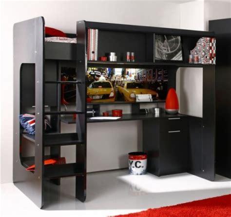 lit mezzanine fille avec bureau lit ado lit et mobilier chambre ado lit pour adolescent