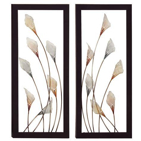 Find great deals on ebay for metal wall decor set. Urban Designs 'Bloom' 2 Piece Framed Wall Art Set & Reviews | Wayfair