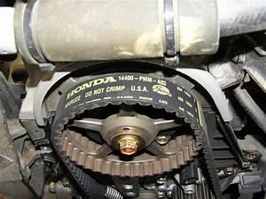 2001 Honda Civic 17 Timing Marks