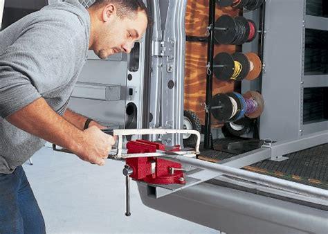 vise mount job specific holders racks