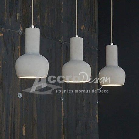 luminaire suspendu design cuisine luminaire suspendu design en béton luminaires
