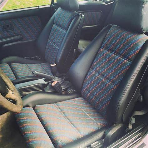 E30 Seats by Bmw E30 M3 Evo 3 Mtech M Technic Cloth Upholstery Seats