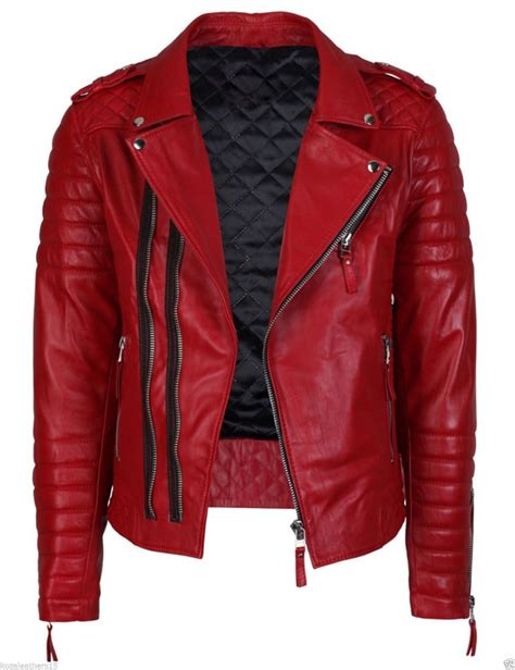 real leather motorcycle jackets men 39 s genuine lambskin quilted leather motorcycle jacket