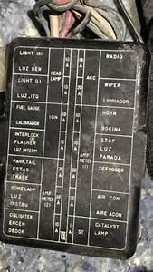 1990 Lexus Ls400 Fuse Box Diagram