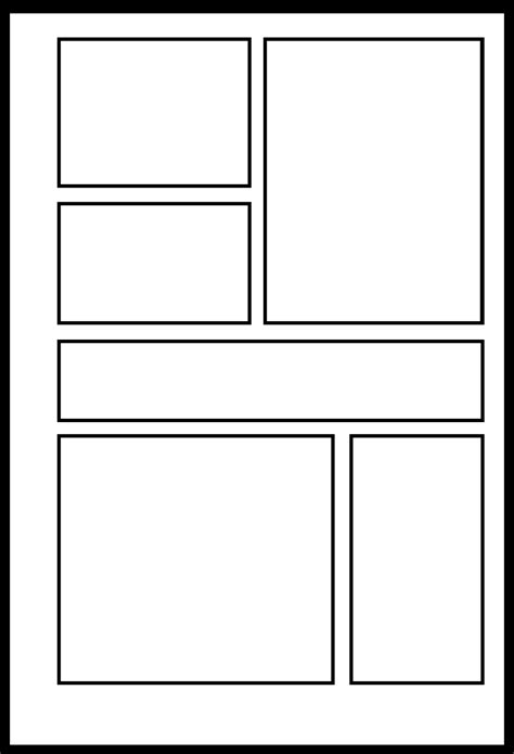Comic Template by Yxb 005 By Comic Templates On Deviantart