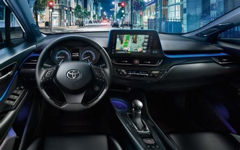 chr toyota  interior cars review