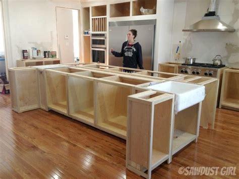 kitchen island sawdust girl
