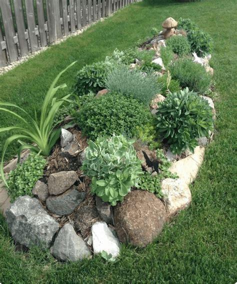 giardini e fiori nei giardini rocciosi le piante grasse ed i fiori regnano