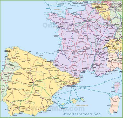 spain map france world map weltkarte peta dunia mapa