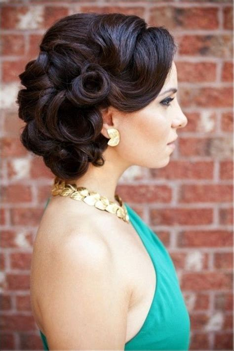 Bridesmaid Updo Hairstyles For Hair by 16 Glamorous Bridesmaid Hairstyles For Hair Pretty