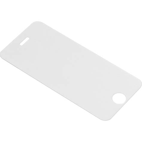 iphone 5 glass bloopro clear tempered glass screen protector blp ip5s b h